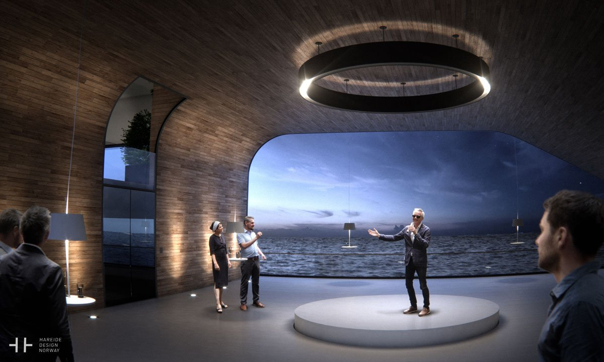 inside-the-grand-hall-provides-a-multiuse-space-its-clear-glass-wall-provides-fantastic-views-of-the-surrounding-sea
