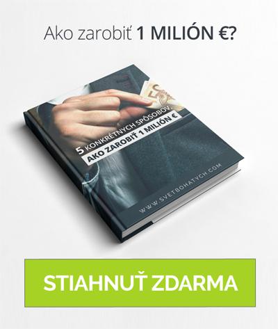ako zarobit milion eur